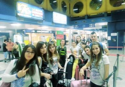 Acri-Studenti all'aeroporto